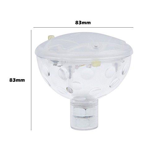 VANKER Flottant sous-Marin LED Lumière de Disco Piscine Hot Cuve Spa Imperméable Neuf