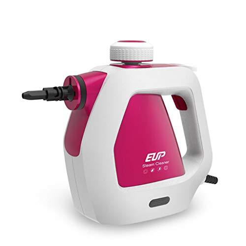 ZLMI Limpiador De Vapor Inicio Multi-Función Handheld Alta Temperatura Autoclave Esterilización (Rosa)