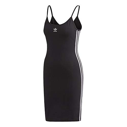 adidas Vestido sin mangas. blanco/negro 36