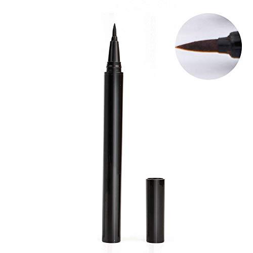 Selbstklebender Eyeliner 2 in 1 Wasserdichter, langlebiger, flüssiger Eyeliner-Stift Kein Kleber und magnetische magische Make-up-Wimpern Filzstift