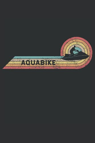 SportBooks: Aquabike: Cool Novelty Gift for a Sportsman ~ Small Lined Notebook (6'' X 9')