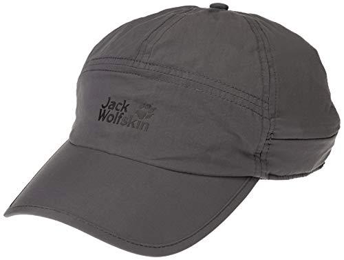 Jack Wolfskin Unisex Supplex Canyon Casquettes Kappe, (Dark Steel), (Herstellergröße: Medium)