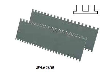 Tiracola COLOMBO de Raimondi - Caja dentada para extender la cola (Dientes 8/10 mm) - PAREJA DE LAMAS DENTADAS