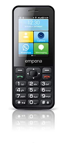 Emporia TALKsmart V800_001 Einfach zu bedienendes Tastenhandy mit Whatsapp Funktion & 5MP Kamera