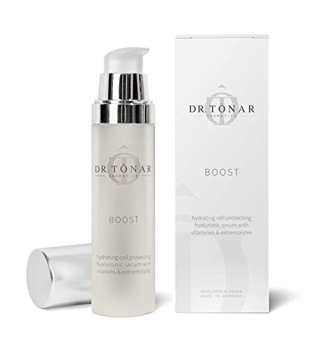 Dr. Tonar Cosmetics BOOST - Hydratisierendes Hyaluron Zellschutzserum mit Vitaminen & Extremolyten