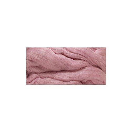 RAYHER 5365516 Merino-Kammzug, superfein, 18 mic, SB-Blister 50 g, rosa