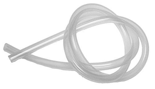 1m Silikonschlauch für Entsafter, Innen 8mm, Außen 11mm, transparent, lebensmittelecht, bis 200°Cm für Entsafter, Einkochautomat, Einkochtopf | BPA-frei*