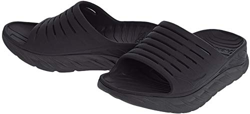 HOKA ONE ONE Mens ORA Recovery Slide 2 Black/Black Sandal - 11