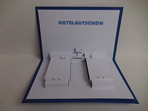 Pop up Karte - Hotel-Gutschein