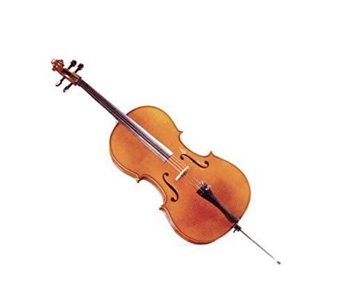 professional DZ Strad Student Cello Model 101, handmade, case, bow, 1/4 rosin