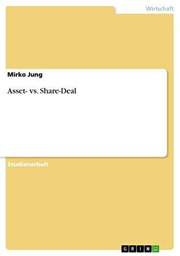 Asset- vs. Share-Deal