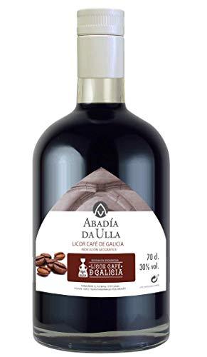 Licor Café de Orujo Gallego con Denominación de Origen. Aguardiente de Galicia ABADÍA DA ULLA 70cl
