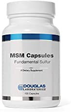 Douglas Laboratories - MSM Capsules (Fundamental Sulfur) - Supports Joint, Connective Tissue, Hair, Skin, and Liver Health - 100 Capsules