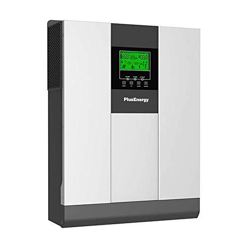WccSolar Solarhybrid-Wechselrichter, reine Welle, 5 kW, 48 V + MPPT-Regler 80 A + Ladegerät 60 A