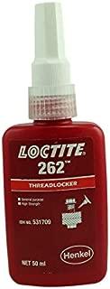 Genuine Henkel Loctite 262 High/Med Strength Torque Tension Threadlocker - 50 ML