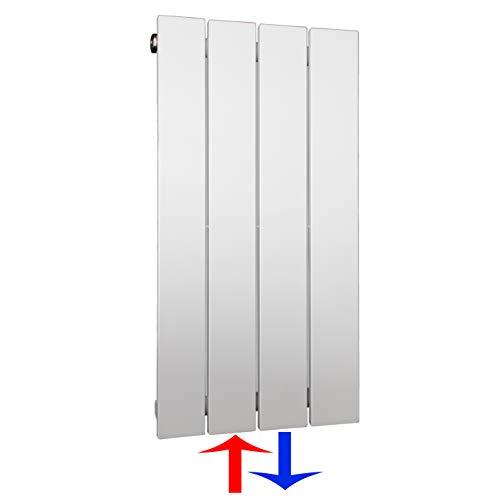 Design Paneelheizkörper Heizkörper Badheizkörper 60 x 30 mit Mittelanschluss (196 Watt nach EN442)