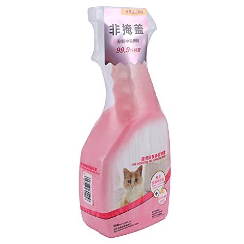 Semiter Desodorante de orina para Mascotas, Limpiador de alfombras para Gatos en Aerosol para orinar para Eliminar el Olor
