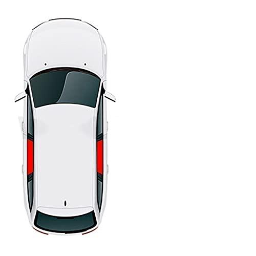 BNMH Cubierta Magnética para Parasol De Ventana Lateral De Coche para Toyota Camry Landcruier 200 FJ Cruiser Prius Alpha VIOS Yaris CHR Mark X Sienna Rush (Color : 2Pcs Rear)