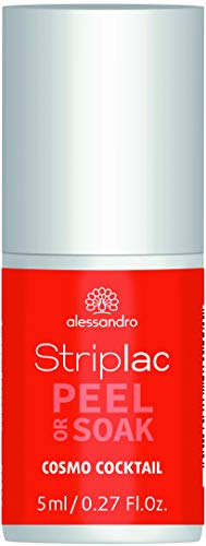 alessandro Striplac Cosmo Cocktail- LED Nagellack Orange, 5 ml