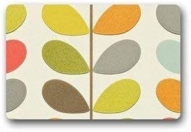Custom Orla Kiely Door Mat Machine-Washable Outdoor/Indoor Doormat