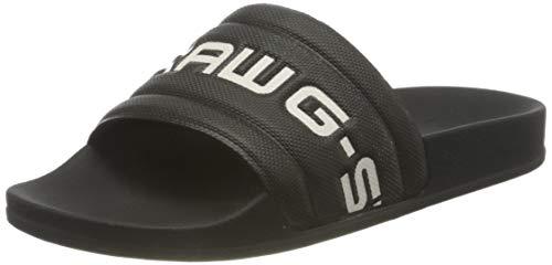 G-STAR RAW Damen D13909 Slide Sandal, dk Black/Black 3593-A112, 38 EU