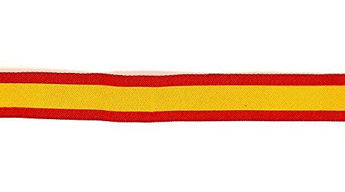 Gemelolandia   Packs y Sets de 6 Pulseras de Tela Impresas Bandera España Bordada   Regalo Original   Ideal Para Bodas, Aniversarios, Fiestas, Despedidas de Solteros