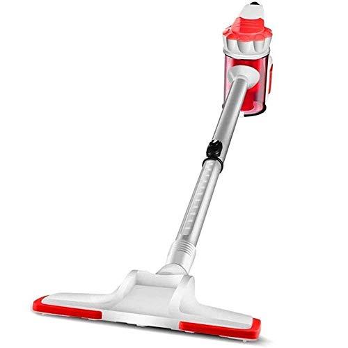 AOIWE Aspirador doméstico Limpiador Ultra-silencioso Solución Fuerte Mini ácaro Mini ácaro Mojado y seco Doble Uso no consumible Harra de Empuje de la Barra de Impulsor (Color : Red)
