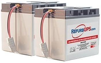 APC Smart-UPS 2200 Rack Mount 3U SU2200RMI3U UPSBatteryCenter Compatible Replacement Battery Set