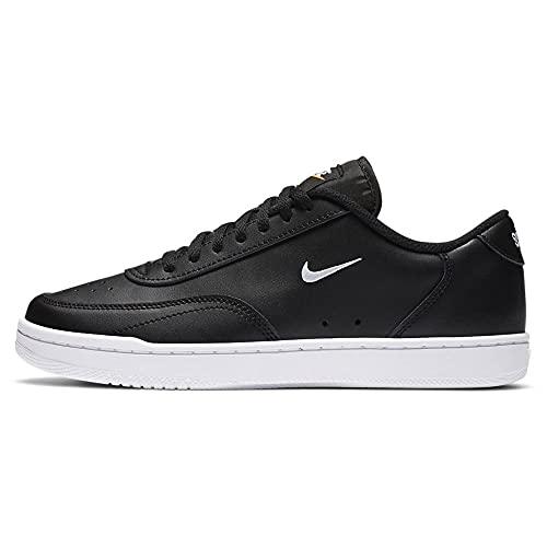 Nike Wmns Court Vintage, Scarpe da Ginnastica Donna, Black White Total Orange, 42.5 EU