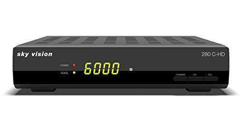 Sky Vision 280 C-HD HD-Kabel-Receiver Anzahl Tuner: 1