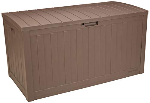 AmazonBasics DB9906AG DB9906A Deck Box 99 Liters Mocha