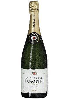 Champagne Lamotte Brut AOC Champagne Lamotte & Cie, trockener Champagner aus Chardonnay/Pinot Noir/Pinot Mineur