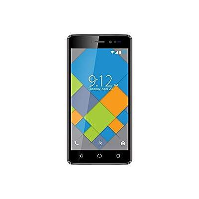 NUU Mobile A4L Unlocked Smartphone | 4G UK Sim Free Android Smartphone | Dual Sim Mobile Phone - 5MP HD Camera | Dual EU & UK Version - Grey