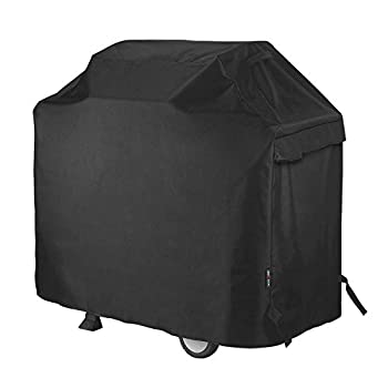 Unicook Heavy Duty Waterproof Barbecue Gas Grill Cover Small 50-inch BBQ Cover Special Fade and UV Resistant Material Fits Grills of Weber Char-Broil Nexgrill Brinkmann and More 50 W x 22 D x 40 H