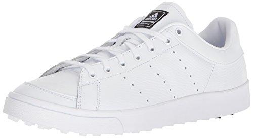 adidas Herren Adicross Classic Across, FTWR White/FTWR White/Core Schwarz, 39.5 EU