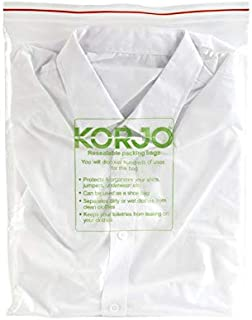 Korjo Travel Garment Bag, 11.5 Centimeters, Clear