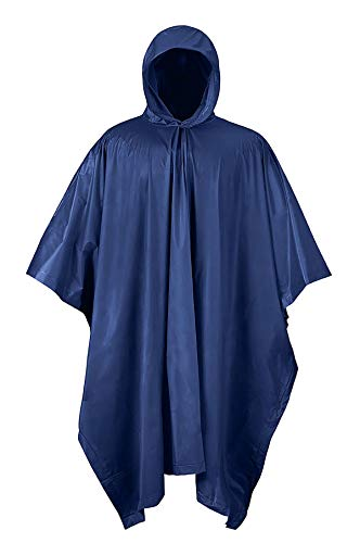 RPS Outdoors 51-112NB Navy Blue One Size rain poncho
