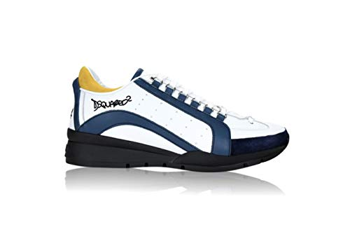 DSQUARED2 W17 M313 - Zapatillas deportivas para hombre Blanco Size: 44.5 EU