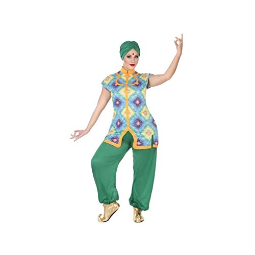 ATOSA disfraz hindu mujer adulto verde XXL