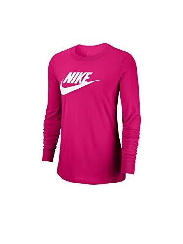 NIKE Sportswear Camisa, Fuchsia, S De Las Mujeres