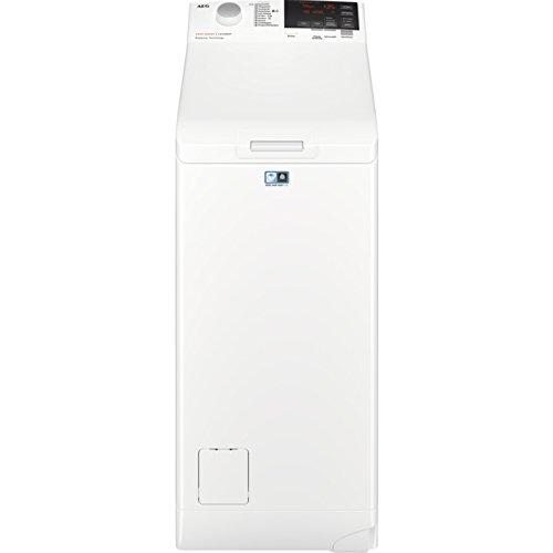 AEG L6TB61379 Independiente Carga Superior 7kg 1300 rpm A+++ Blanco Lavadora - Lavadora (Independiente, Carga superior, Blanco, botones, Giratorio, Superior, LED)