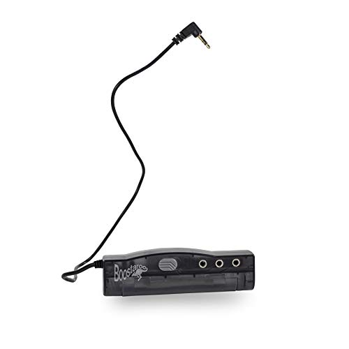 Upbeat Audio T613-BNC Boostaroo for All Audio Application – Increases Audio Output of PCs, MP3s, Laptops, DVD Players & More – Long Battery Life & Great Sound Quality