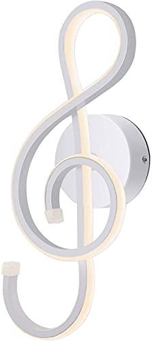 KAWELL Creativa Moderna LED Lampada da Parete Interno Luce del Parete LED 22W Minimalista Lega di Alluminio per Decorazione di arte da letto, soggiorno, Cafe, Corridoio, 4500K Bianco