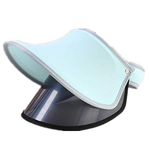 Sombrero para El Sol, Protección UV Cubrir La Cara Sombrero De Belleza, El Verano Señora Visera Protector Solar Sombrero Doble Capa Parte Superior Vacía Tapa De La Lente, Selección