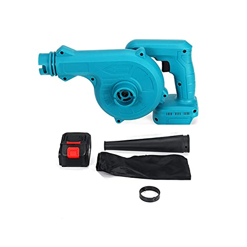 vacuum and blowers electric, Cordless Li-ion Blower, Max Airspeed 212 km/h, 2 * 21V 4, Vitesse de rotation: 0-16000 (rpm), Ideal for Home Garden Cleaning