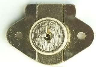 Corbin Cabinet Lock (CCL) 02066-US4-KA Deadbolt Drawer Lock, 1-1/8