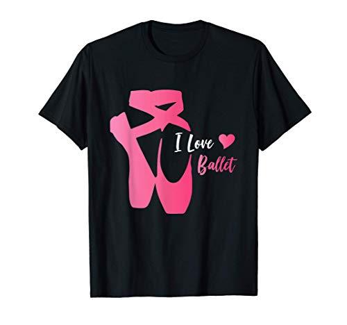Bailarina Zapatillas de Ballet Danza Señoras / Niñas Camiseta