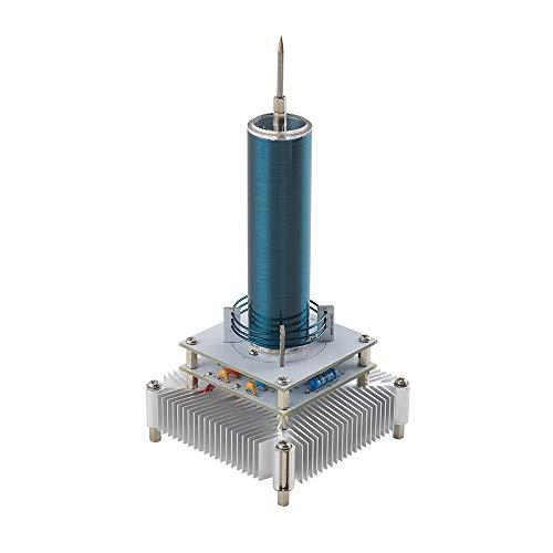 COLOR TREE Musik Coil Plasma Lautsprecher Wireless übertragung Lernen Bildung Experiment Modell Geschenk Silber
