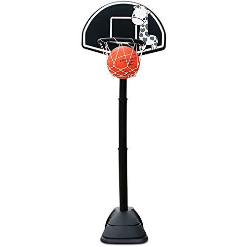 ZZLYY Canasta Baloncesto Infantil, Soporte De Baloncesto En Negrita De 90-135cm, Juguetes De Baloncesto En Interiores Y Exteriores para Niños Mayores De 3 Años