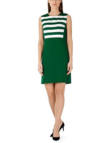 Marc Cain Additions Damen Kleid Ka 21.03 J27,Mehrfarbig (Fir 557),40 (Herstellergröße: N4/ 40)